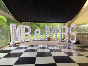 Giant Light Up Letters Hire